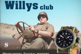 Jeep Willys Watches from Willys Club
