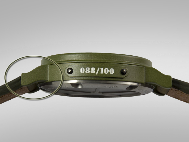 2745a9983a2 ... watch matches the profile of the Willys Jeep frame  horn  section. Four  designs are available – one for each country that had a major involvement  in the ...